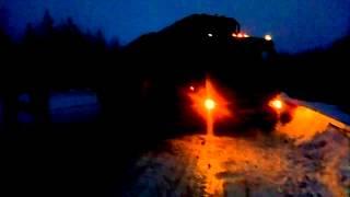 Пробка на трассе Няндома Каргополь