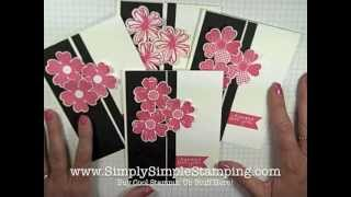 Simply Simple FLASH CARDS 2.0 - Flower Shop Thank You by Connie Stewart