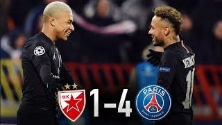 Belgrade 1-4 Paris I LDC I Le PSG se qualifie *en patron* pour les 1/8ème de finale de la LDC !