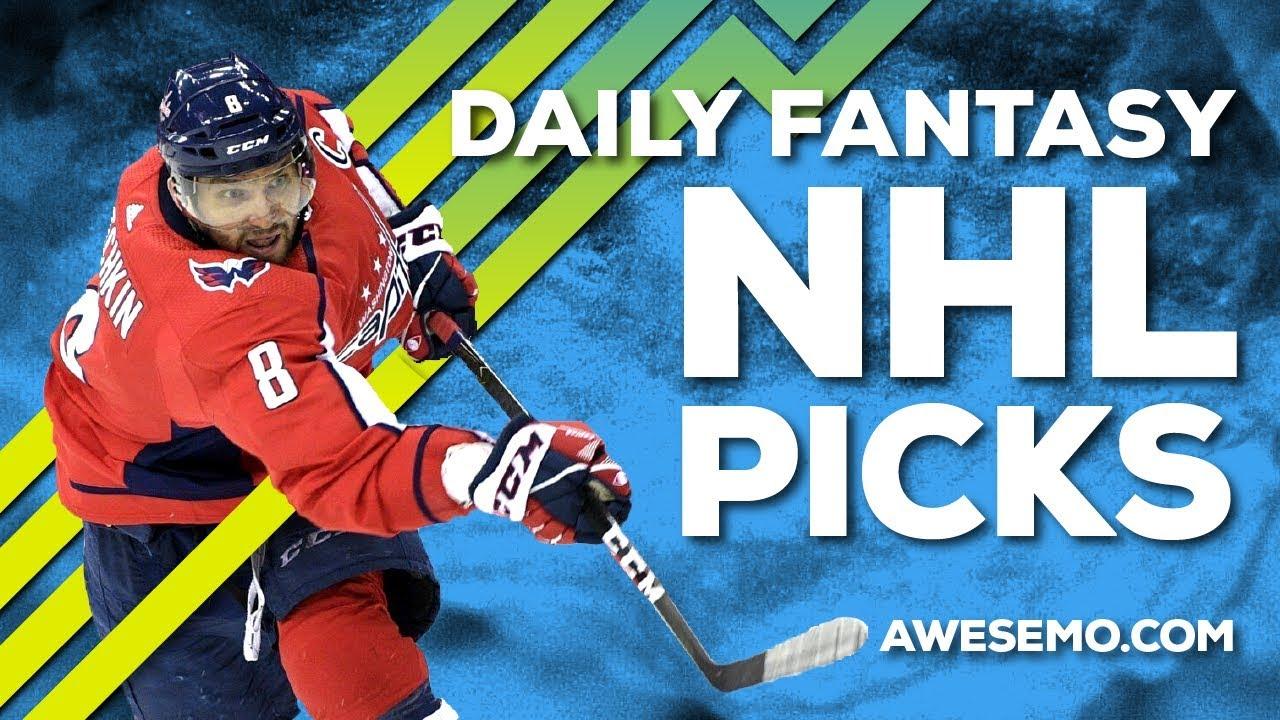 NHL DFS STRATEGY - WED 10/2 - YAHOO DRAFTKINGS FANDUEL