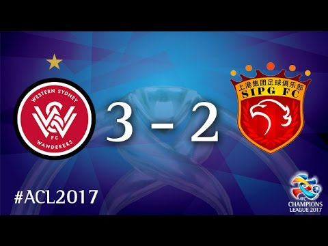 Western Sydney Wanderers vs Shanghai SIPG (AFC Champions League 2017 : Group Stage -MD6)