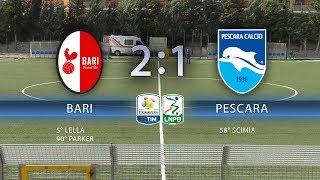 Primavera BARI – PESCARA 2-1, gli highlights