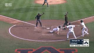 Auburn Baseball vs Georgia Southern Game 2 Highlights