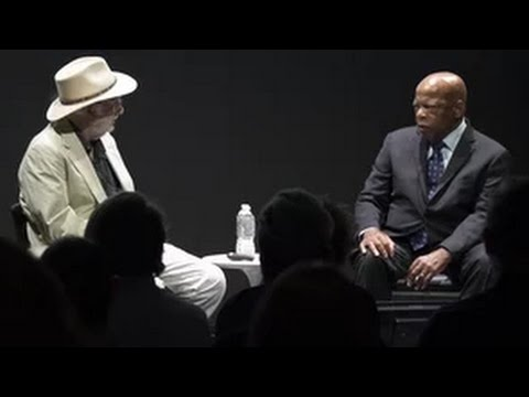 Representative John Lewis in Conversation with Danny Lyon
