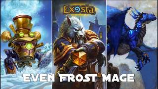Even Frost Mage - vs Even Shaman - Wild Legend Gameplay