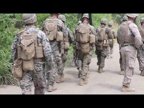 U.S. Marines, Japan Ground Self-Defense Force detonate explosives during Northern Viper 17
