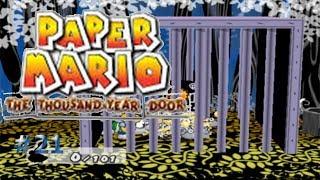 La salida secreta de la jaula/Paper Mario: La Puerta MIlenaria #21