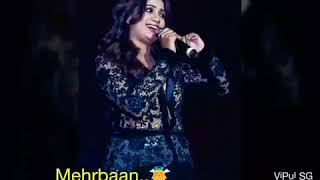 "Gambar cover Shreya Ghoshal beautiful song ""main agar kahoon"""