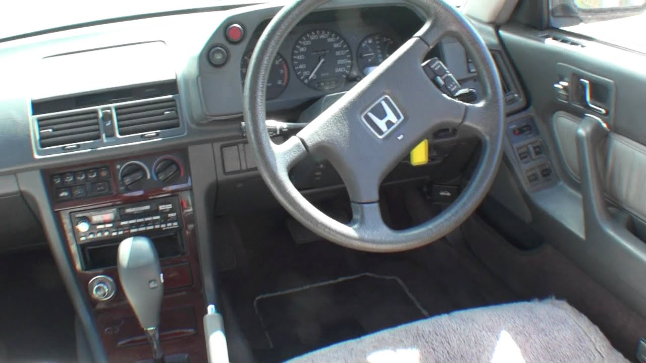 1989 Acura Integra >> Honda Legend 1989 Interior - YouTube