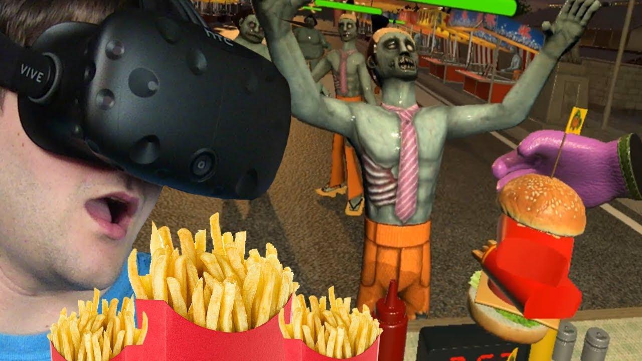 USMAŻYŁEM FRYTKOBURGER – Dead Hungry #3 (HTC VIVE VR)