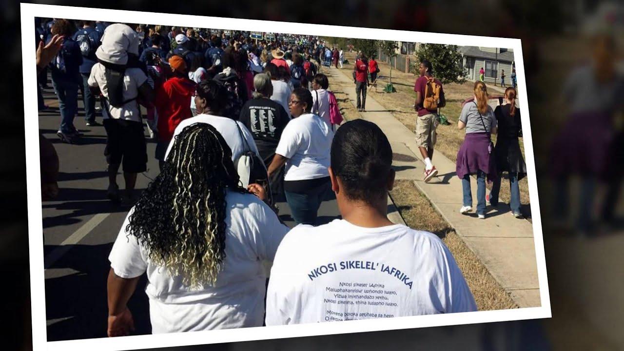 Martin Luther King Jr March San Antonio Texas January 20 2014