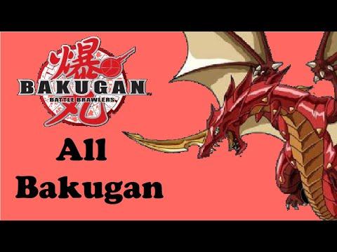 Bakugan Battle Brawlers (Video Game): All Available Bakugan