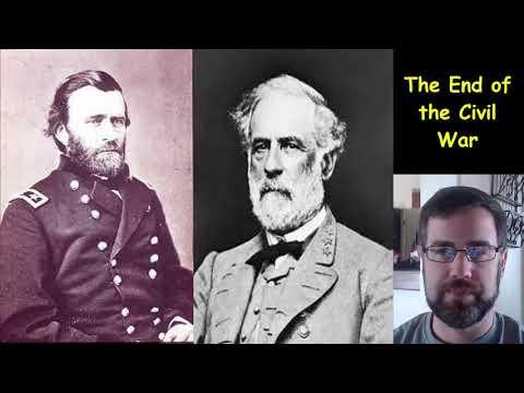 conclusion of the civil war