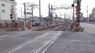 東武アーバンパークライン(東武野田線) 高架工事  愛宕駅仮駅舎工事