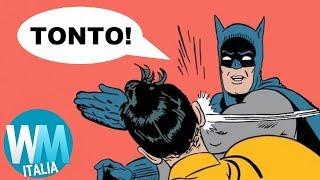 Top 10 PEGGIORI COSE mai FATTE da BATMAN!