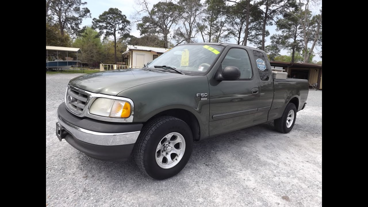 2003 FORD F 150 XLT 2X4 FOR SALE LEISURE USED CARS 850 265 9178