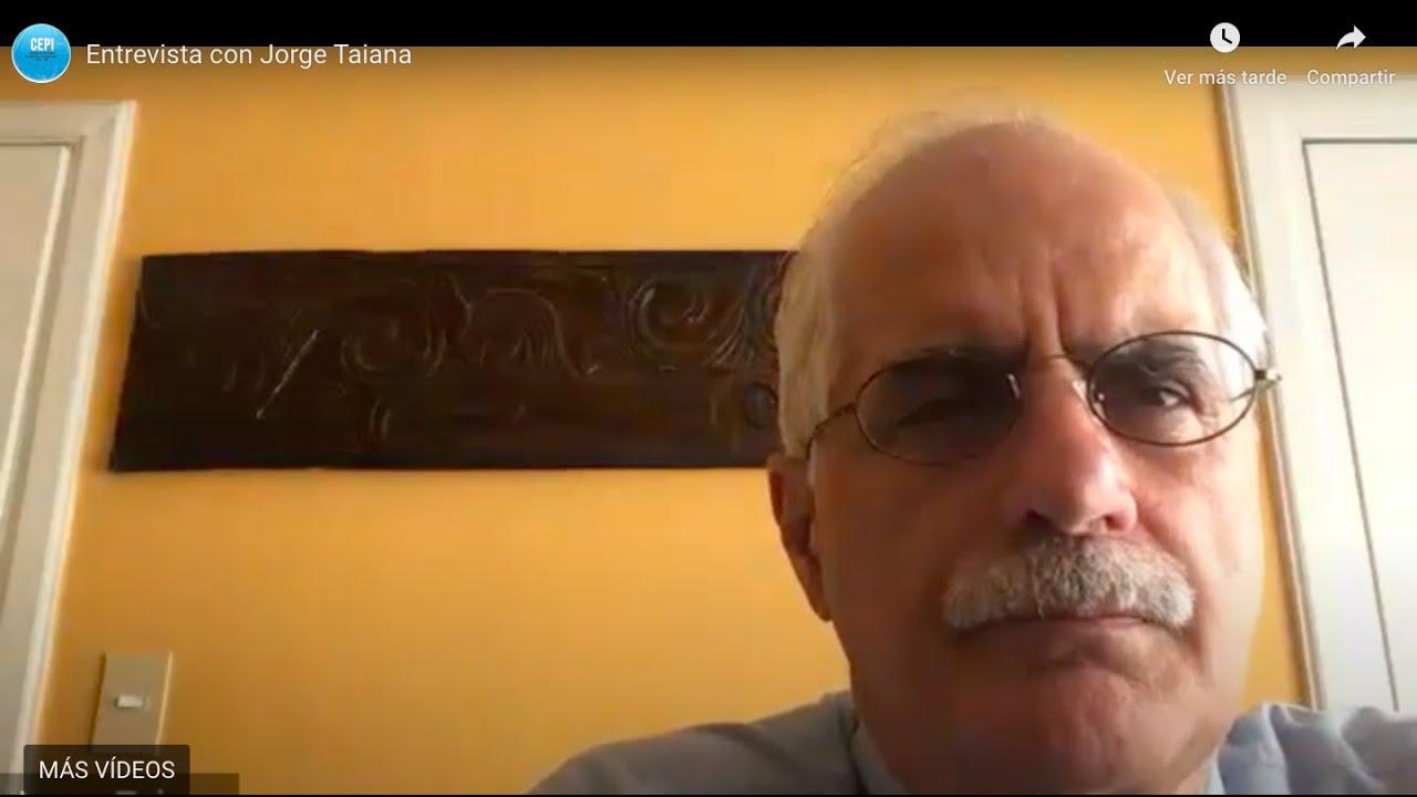 Entrevista a Jorge Taiana