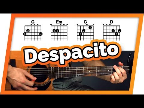 Despacito Guitar Tutorial (Luis Fonsi ft. Daddy Yankee & Justin Bieber) Easy Chords Guitar Lesson