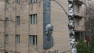 Спецпроект к 75 й годовщине Победы улицы Веры Волошиной в Москве и Мытищах