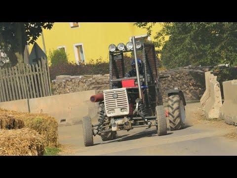 Int. Oldtimer Traktorrennen Langstrecken WM Reingers 2014