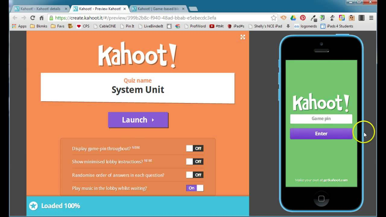Kahoot! - Chromebook Classroom
