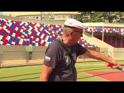 В Сочи тренируется паралимпиец из Венесуэлы