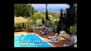 Villa de Luxe Marbella pour 20 Personnes
