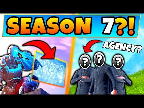 Fortnite SEASON 7?! - SECRET Agency & A.I.M. Corporation? - 8 Clues & Theories in Battle Royale!