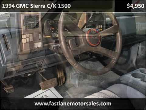 1994 GMC Sierra C/K 1500 Used Cars Athens AL