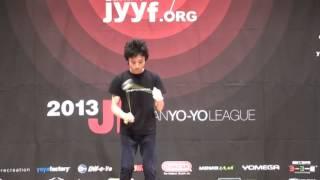 2013 East Japan Yo-Yo Contest B Block 5A Pre Naoto Okada