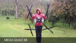 Big QuadCopter coax hammer XB8 kopterworx