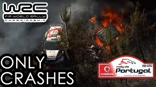 Only CRASHES & Mistakes - WRC Rally Portugal 2016 ( SÓ ACIDENTES )