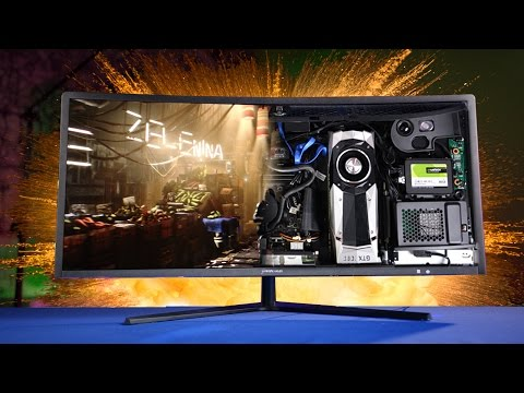 GTX 1080 in an Ultrawide All-in-one!?