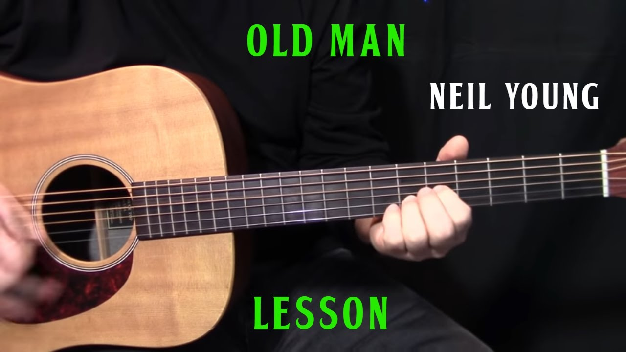 how to play old man by neil young acoustic guitar lesson youtube. Black Bedroom Furniture Sets. Home Design Ideas