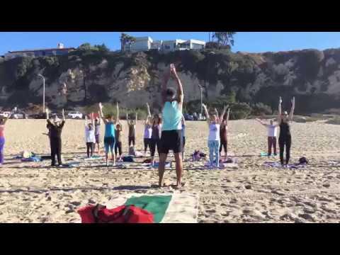 Yoga on the Beach with Sri Hari 10/22