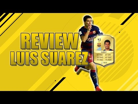 FIFA17 L REVIEW LUIS SUAREZ 92