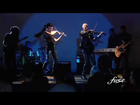 Linzi Stoppard/Ben Lee FUSE EPK feat  £1M Swarovski Crystal Electric Violins