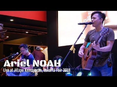 Yang Terdalam - Ariel NOAH | Live at Jakarta fair 2018 - Booth Torabika