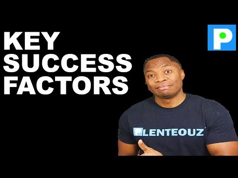 HOW TO CREATE YOUR SUCCESS STORY - MY TOP 10 SUCCESS FACTORS