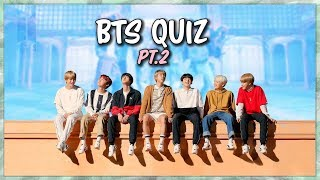 Army Quiz! (HARD) How well do you know BTS?