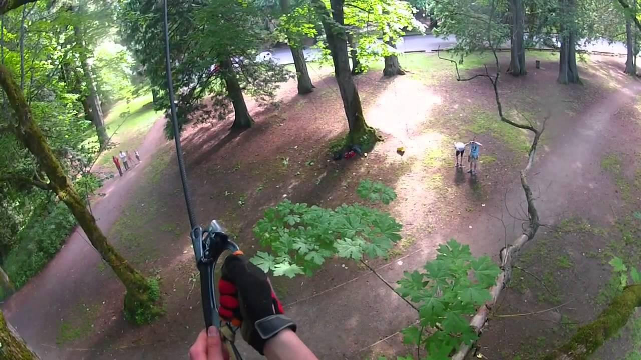 How to build a tree swing - Tree Swing Mt Douglas Park