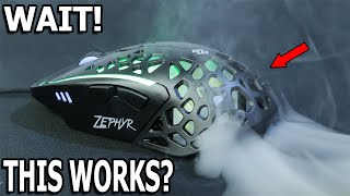 I Thought This Was A Gimmick | Zephyr Gaming Mouse with Active Palm Cooling