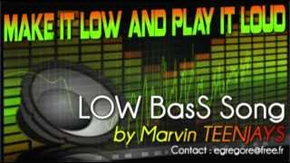 "Extreme LOW BASS subwoofer music test Song - ""Make it Low and Play it loud"" by Marvin TEENJAYS"