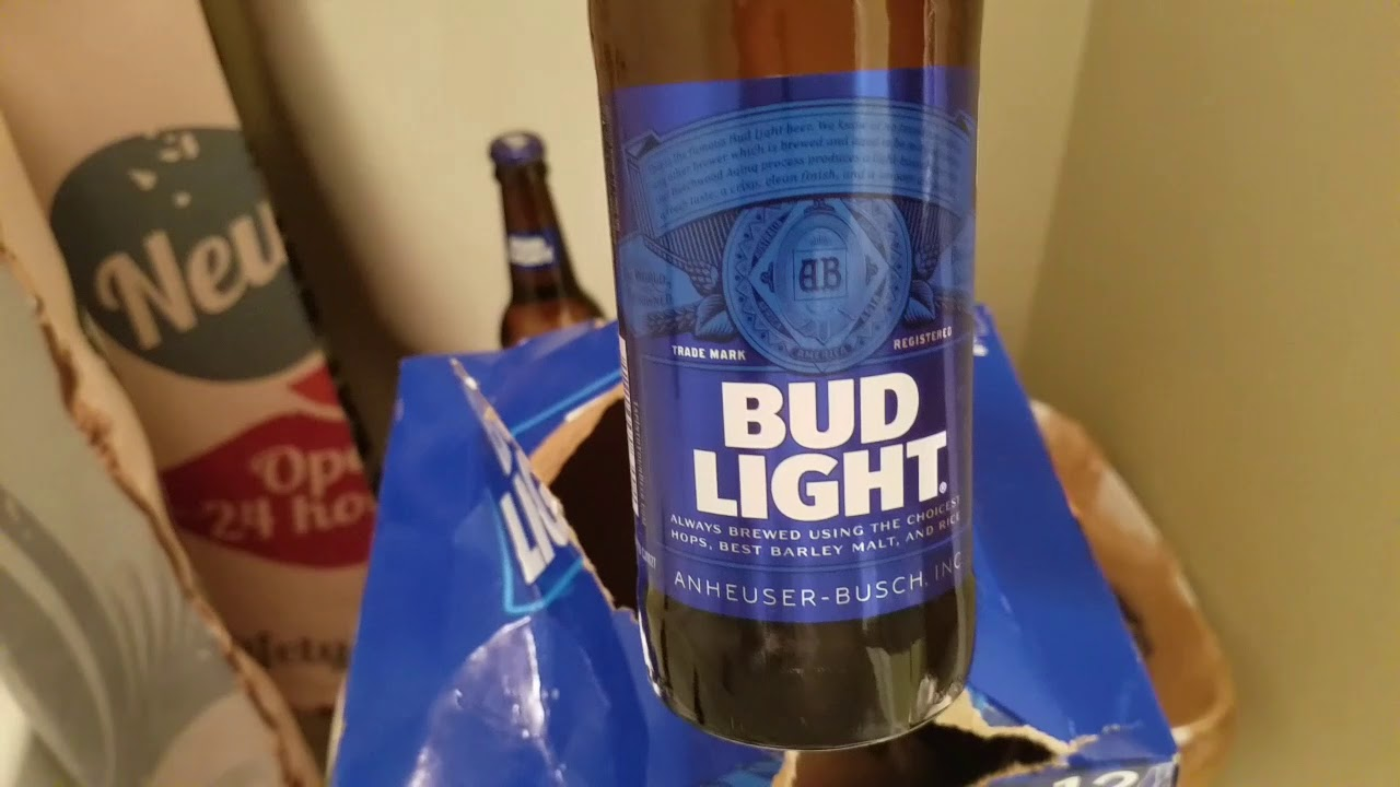 BUD LIGHT 12 PACK UNBOXING
