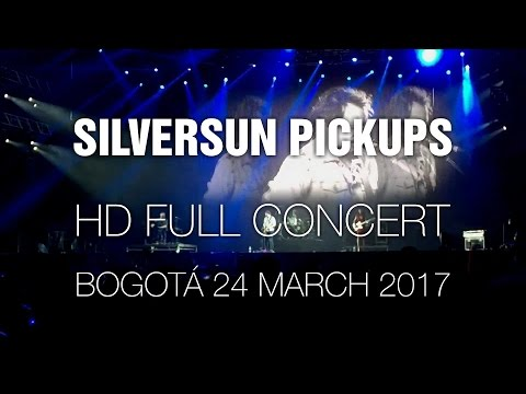 Silversun Pickups [HD Full Concert] @Bogotá 24 Mar 2017