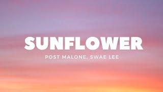 Download Post Malone, Swae Lee - Sunflower (Lyrics) Mp3 and Videos