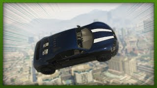 GTA 5 Funny Moments - Crazy Moon Gravity STUNT! - Challenges With Hazardous! ( Episode 6 )