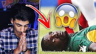أغرب 5 أحداث في كرة القدم 😱💔 ((لاعب يموت داخل الملعب!!))