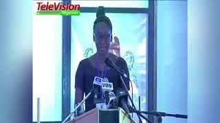 Hafsat Abiola Costello's Speech at MKO Abiola's Investiture  On June 12 - TVN