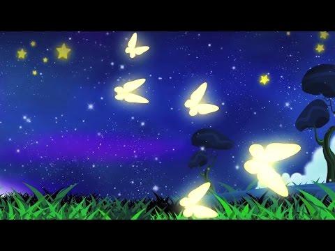 Schmetterling Wiegenlied | lullaby für Kinder | Gute-Nacht-Musik für Kinder